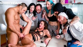FORBONDAGE – #Amirah Adara – Quarantine BDSM Group Fuck With A Sexy Teenager And Her Dirty Doctor Antonio Ross