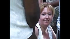 Hot BBW mature is lost in the park and starts dogging