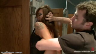 MILF rough double penetration fucked