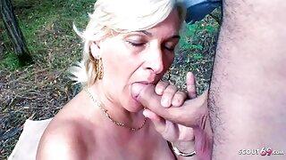 72yr OLD GRANDMA SEDUCE TO POV PUBLIC SEX BY STEP GRAND SON